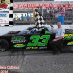 Childers Wins Pro Late Model Feature