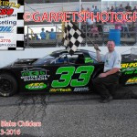 Childers Wins the Pro Late Model Feature