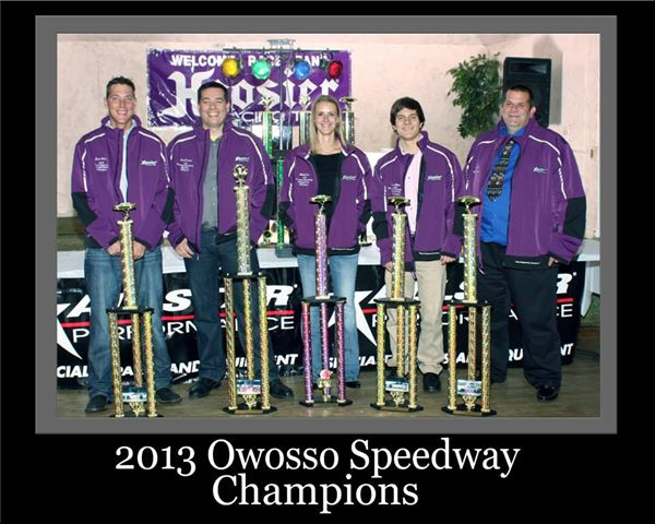 owosso speedway track champions 2013